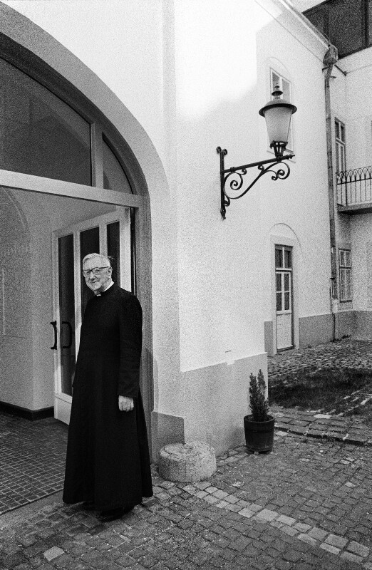 Erzbischof Laszlo Kardinal Paskai, Budapest, 1998
