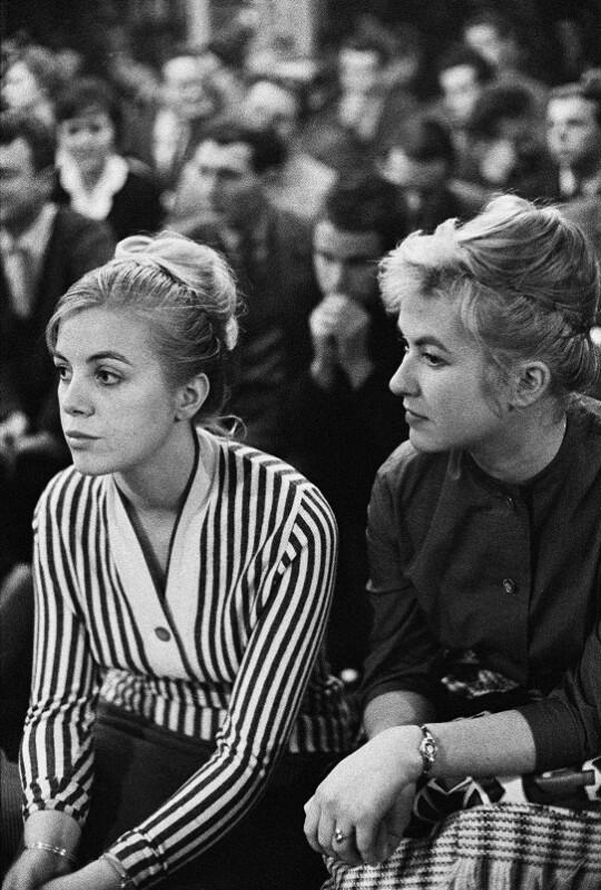 Studenten an der Technischen Universität Dresden, 1959