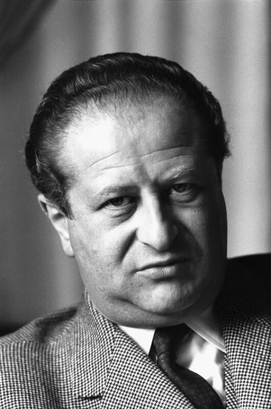 Der österreichische Außenminister und spätere Bundeskanzler Bruno Kreisky, 1960