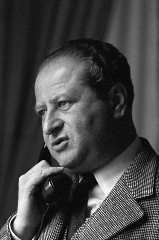 Österreichischer Kanzler Bruno Kreisky, 1960