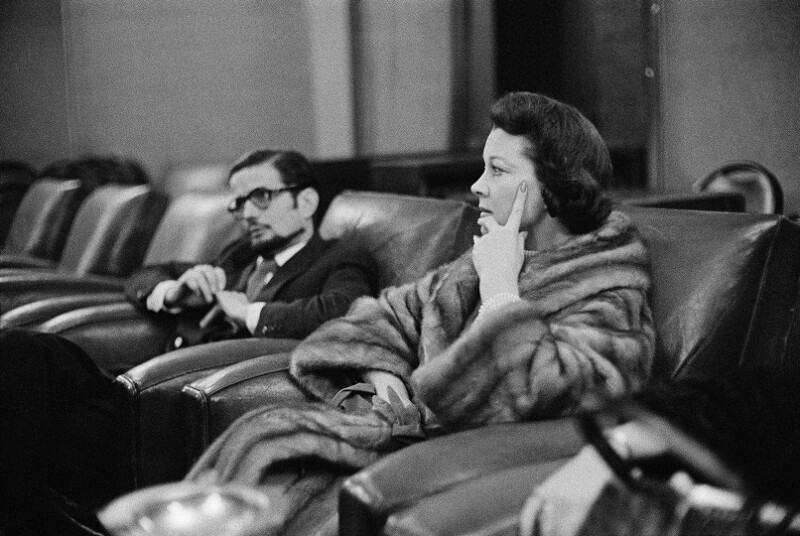 Vivien Leigh, Paris, 1960