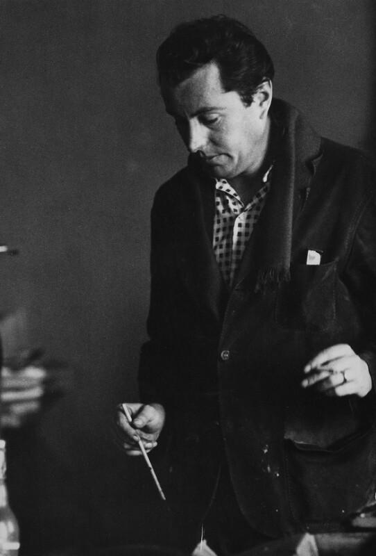 Der Maler Bernard Buffet, Paris, 1961