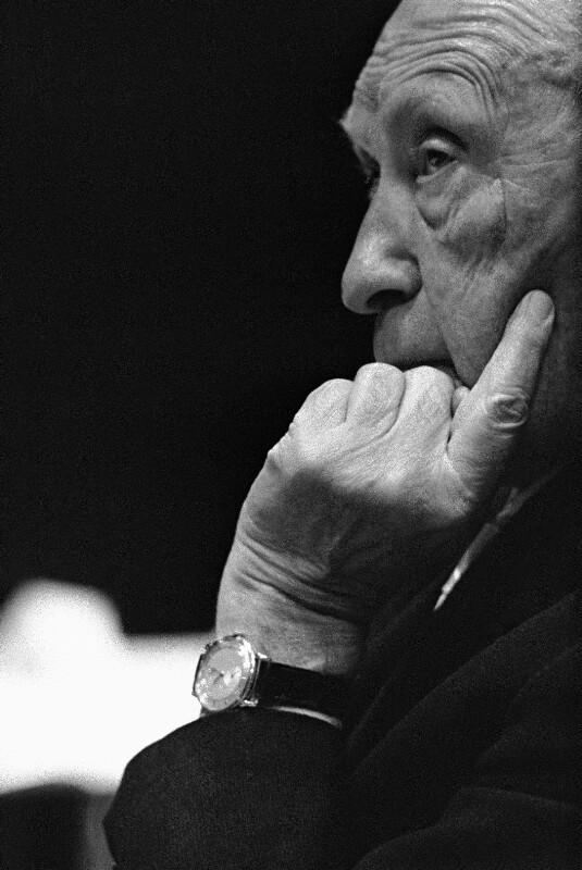 West-Deutscher Kanzler Konrad Adenauer, 1961