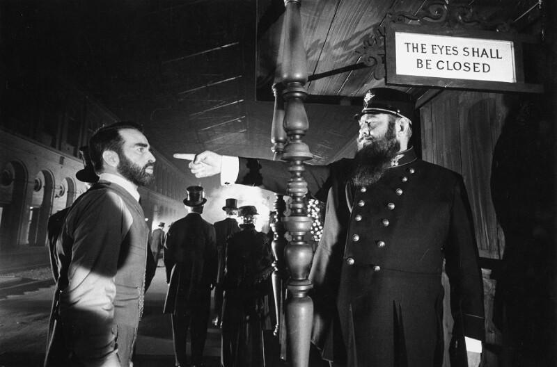 "Montgomery Clift während der Dreharbeiten zu John Hustons ""Freud"", Wien, 1961"