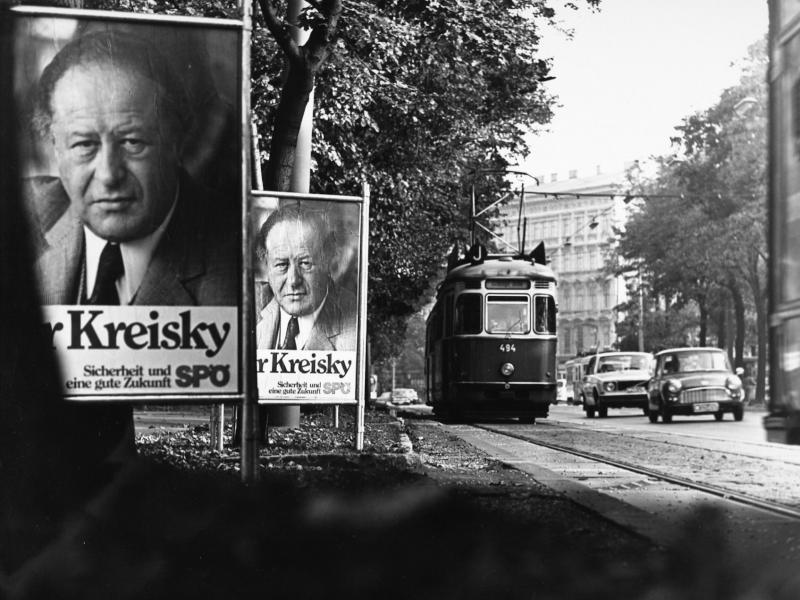 Wahlplakat Bruno Kreisky