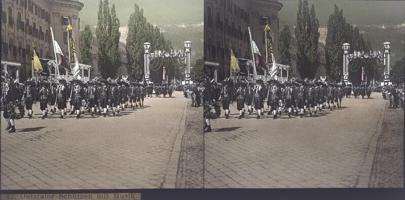 Tiroler Landes-Jahrhundert-Feier 1809-1909 in Innsbruck