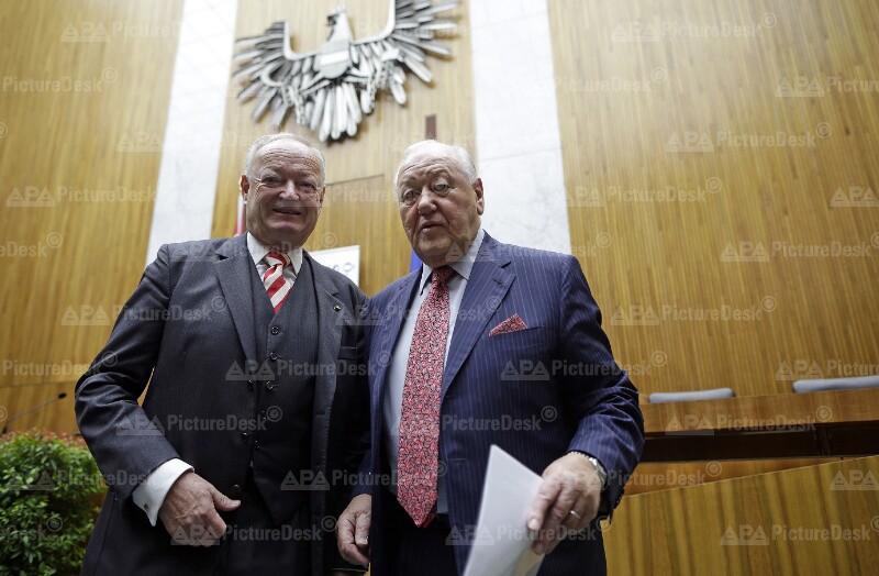 Andreas Kohl und Karl Blecha