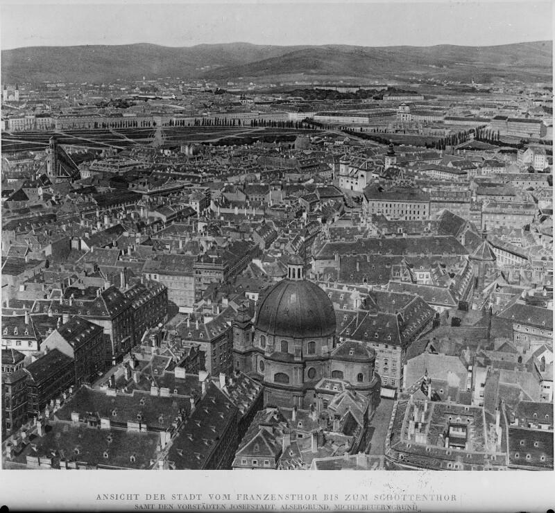 Rundblick vom Stephansdom