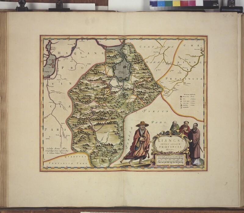 Landkarte der Provinz Jiangxi