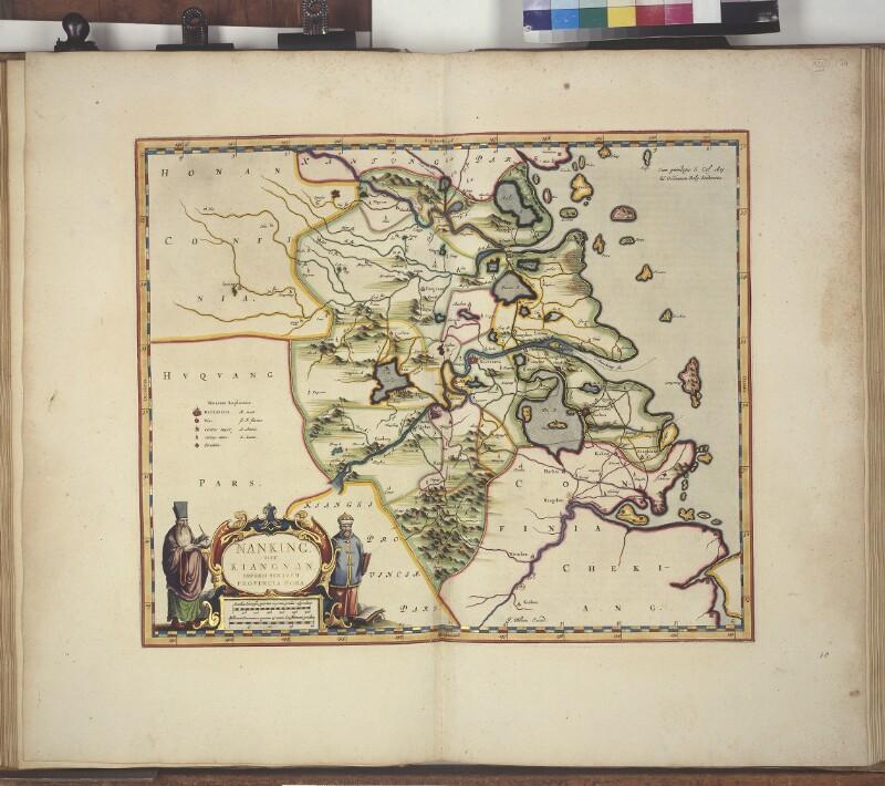 Landkarte der Provinz Nan Zhili