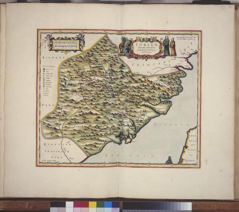 Landkarte der Provinz Fujian