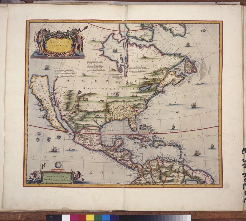 Landkarte von Nordamerika
