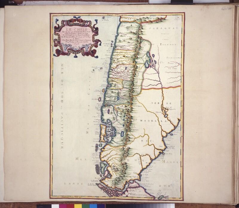 Landkarte von Chile