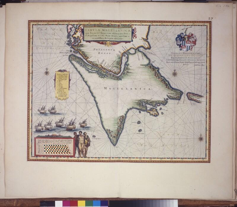 Landkarte von Feuerland
