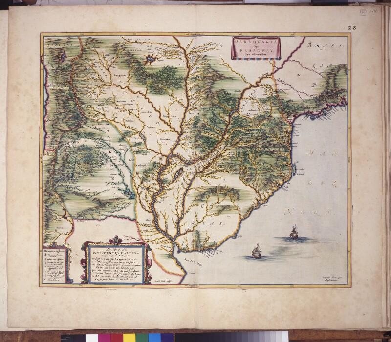 Landkarte des Rio de la Plata