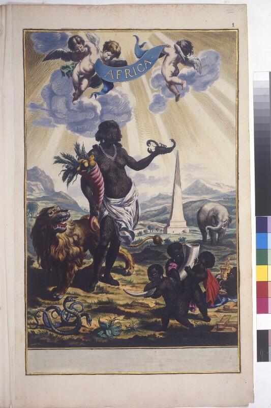 Frontispiz des Afrikabandes