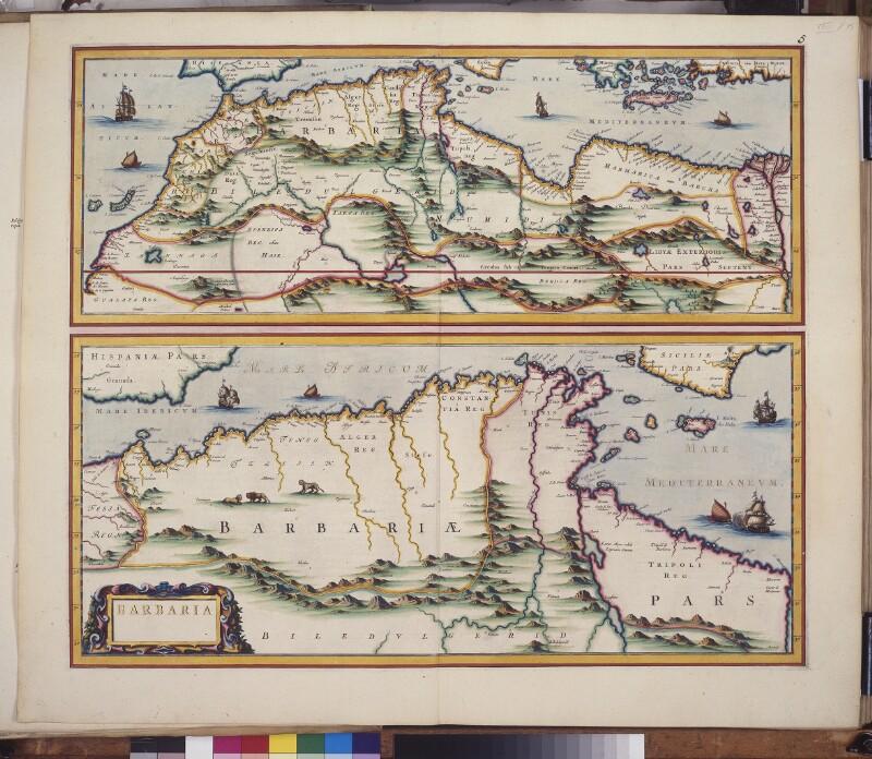 Landkarten von Nordafrika