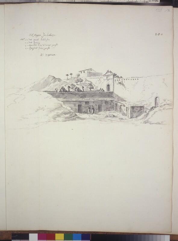 Das Burgtor von Algier