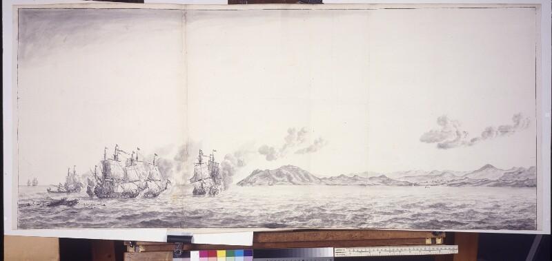 Seeschlacht vor der Küste von Ceuta