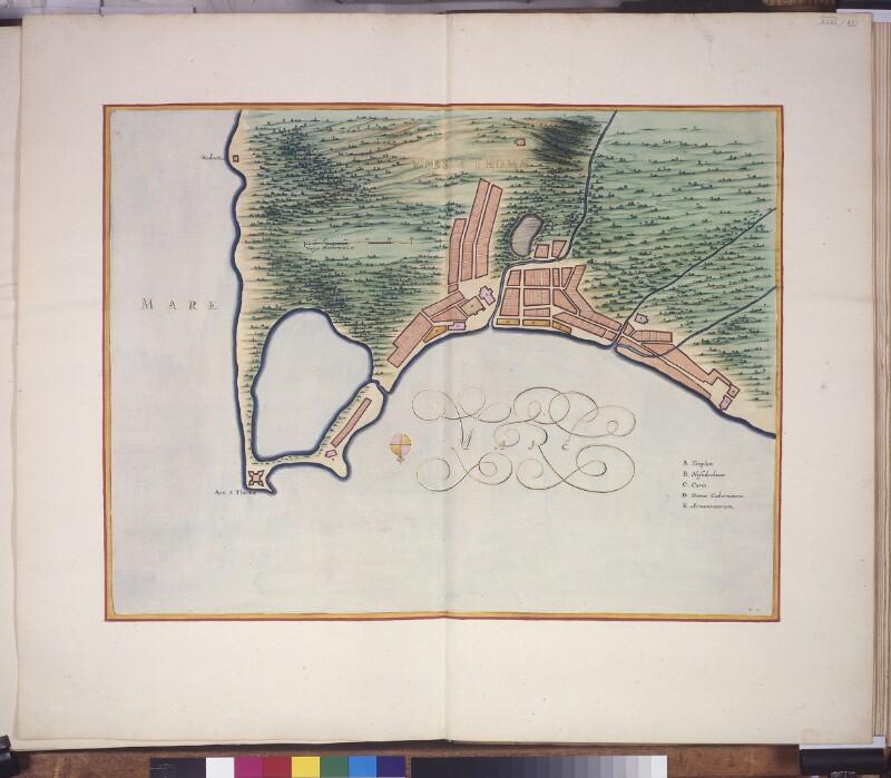Stadtplan von São Tomé
