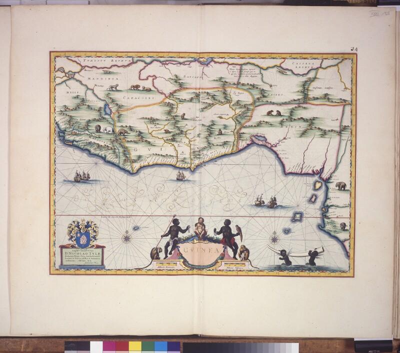 Landkarte von Guinea