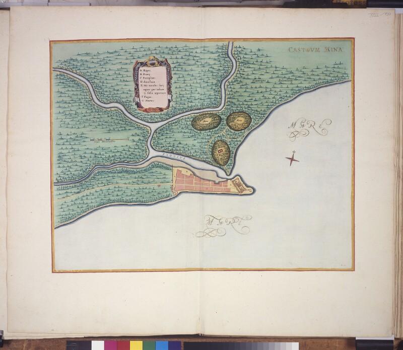 Stadtplan von Elmina