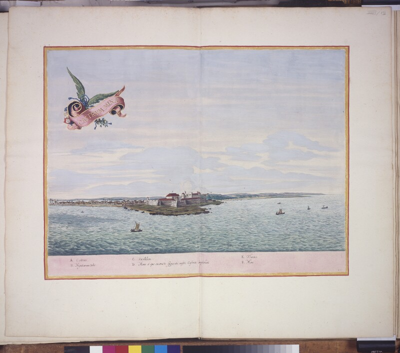 Vogelschauansicht von Elmina