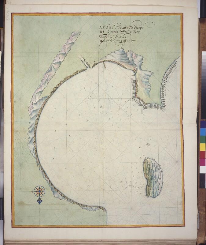 Landkarte der Tafelbucht