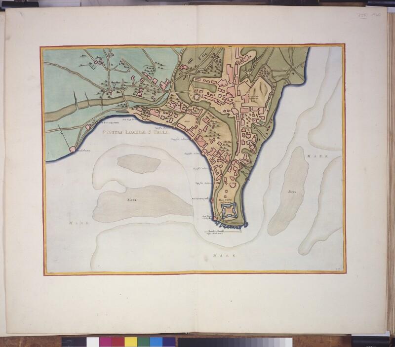 Stadtplan von Luanda