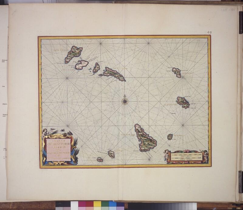 Landkarte der kapverdischen Inseln