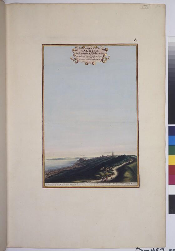 Blick von Norden auf Tanger