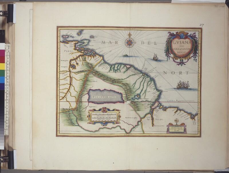 Landkarte von Guyana