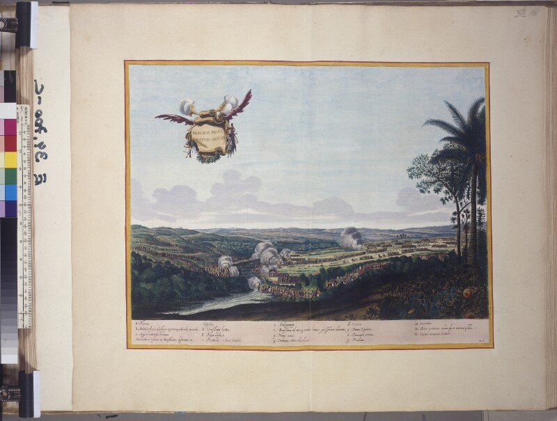 Die Schlacht um Porto Calvo im Jahr 1637