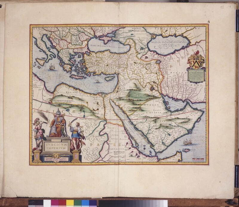 Landkarte des Osmanischen Reichs