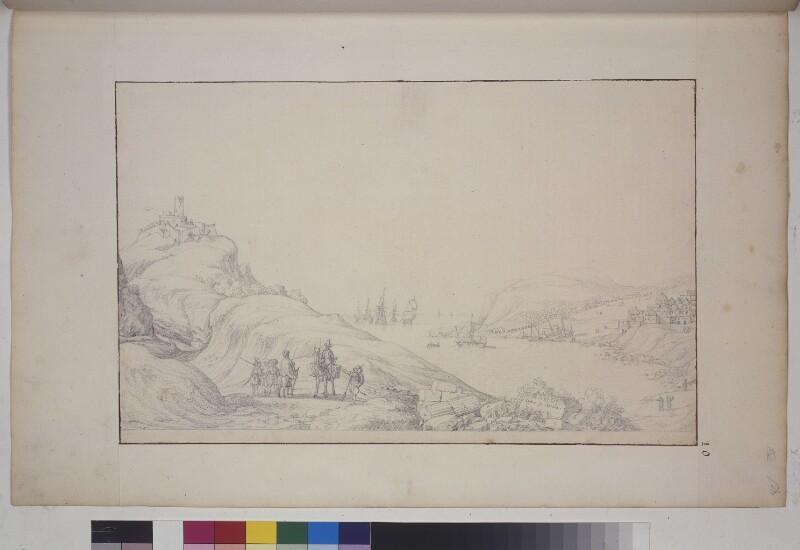 Ansicht von Sapanca (Sophon) in Anatolien