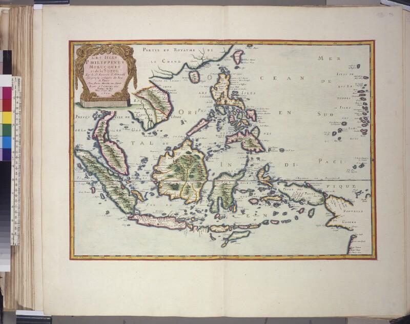 Landkarte des Ostindischen Archipels