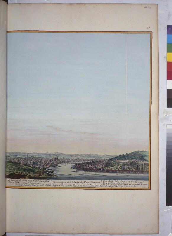 Blick von Nordwesten auf Lyon