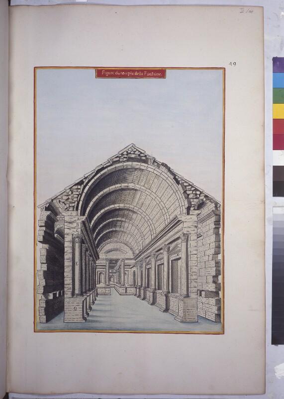 Der Dianatempel in Nîmes