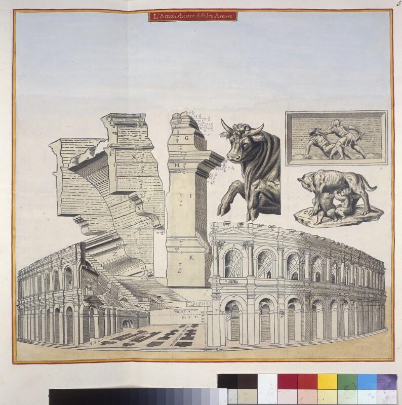 Das Amphiteater von Nîmes