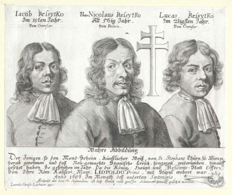 Nikolaus Resytko mit seinen Söhnen Lukas und Jakob.