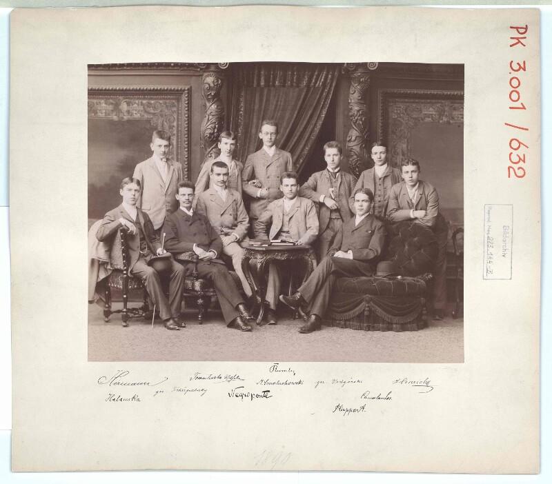 Gruppenbild junger Männer