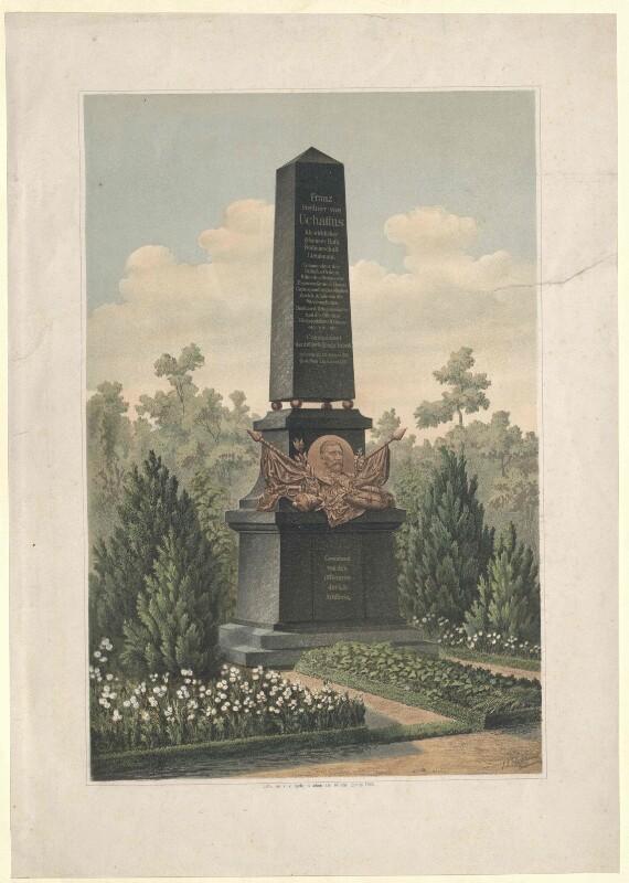Ehrengrab von Franz Freiherr von Uchatius auf dem Zentralfriedhof in Wien