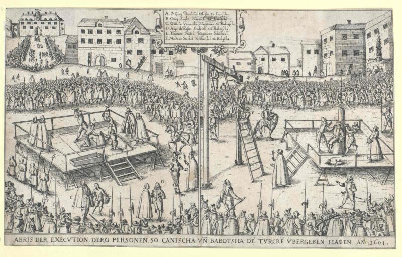 Hinrichtungen in Wien, 1601