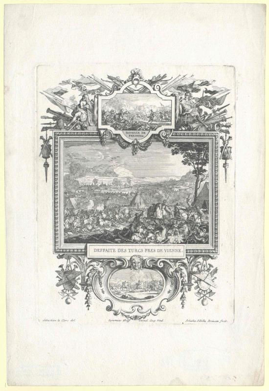 Niederlage der Türken bei Wien, 1683