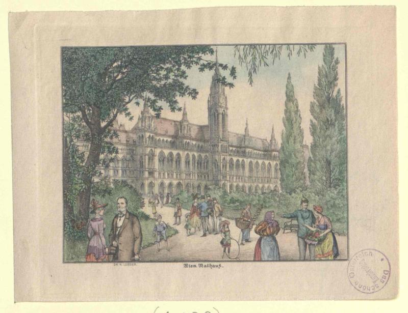 Rathaus von Wien