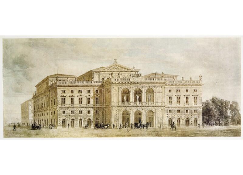 Das neue Musikvereinsgebäude in Wien