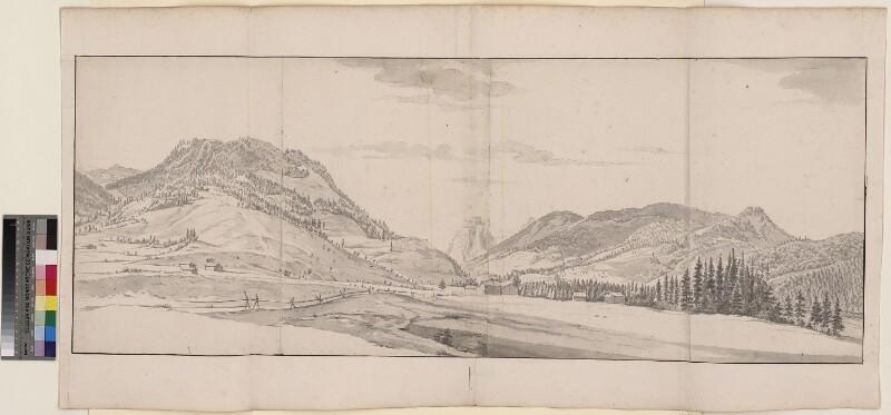 Das Alptal südlich von Einsiedeln