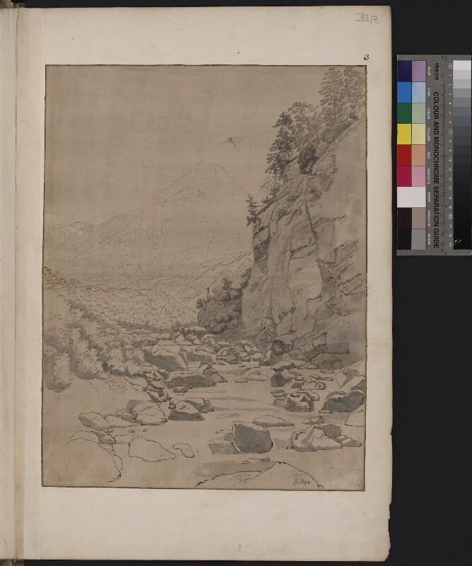 Blick von der Raniabrücke in das Schamstal