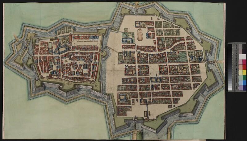 Stadtplan von Nancy