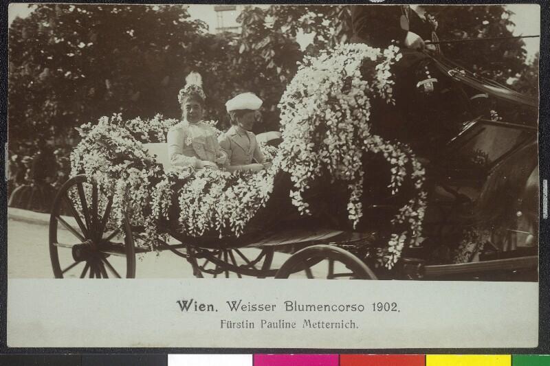Wien 2, Blumenkorso im Prater